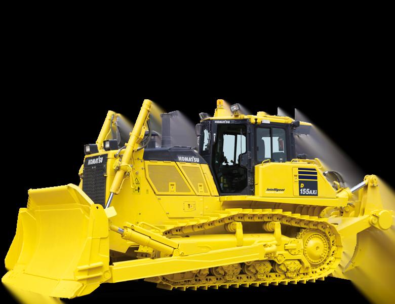 Bulldozer intelligent Komatsu France