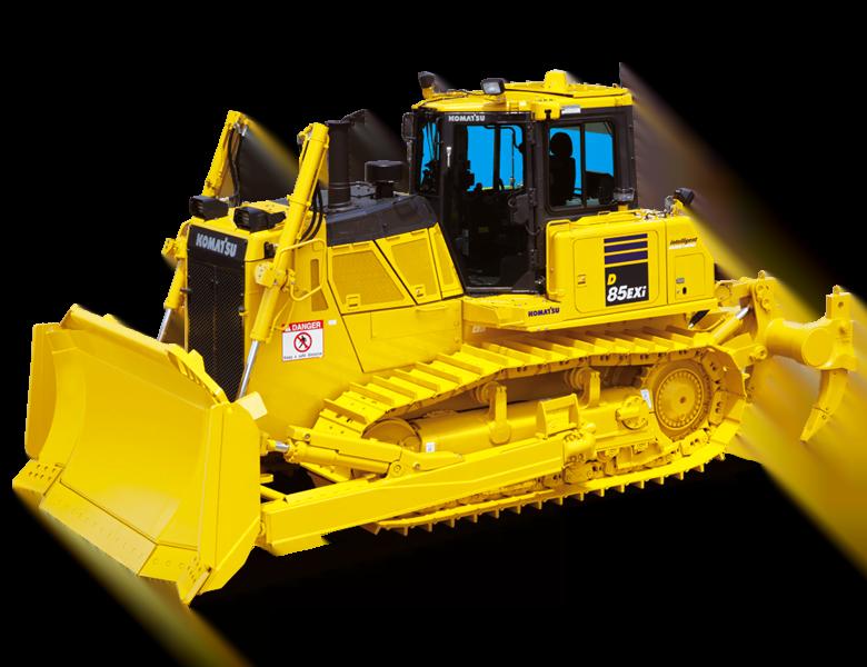 Bulldozer intelligent Komatsu France SAMI TP