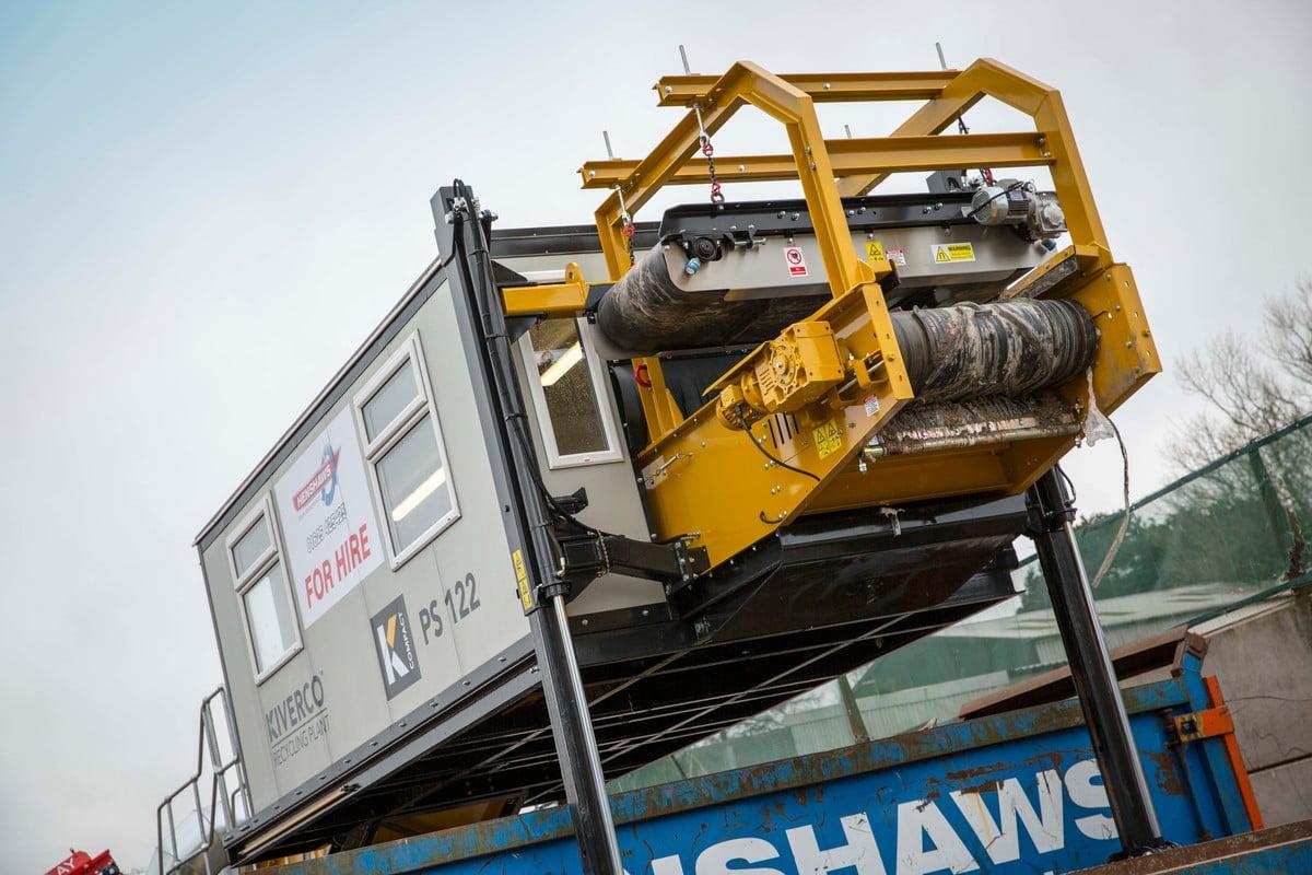 Machine de tri mobiles pour déchets BTP & industriel