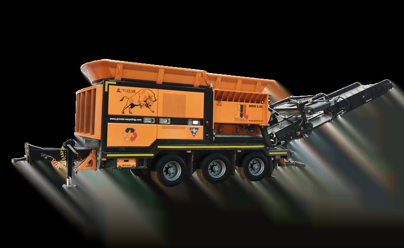 Équipement de traitement des déchets