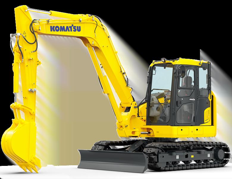 Matériel Komatsu France SAMI TP pour entreprise de travaux publics, génie civil, de construction. Machine d'occasion et neuves. Location machine. Machine btp