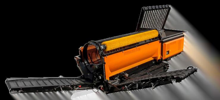 Équipement mobile de traitement de déchets France